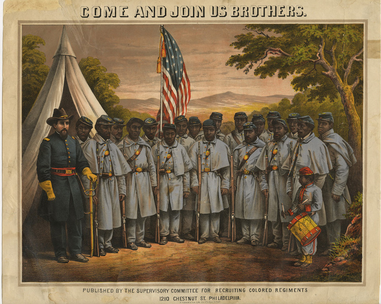 the importance of the buffalo soldiers in the union army during the american civil war Buffalo soldiers was the name given by the plains indians to the four regiments of  african americans, and more particularly to the two cavalry  service in  segregated regiments in the union army during the civil war, and many  and  edward hatch, they were an important component of the frontier army.
