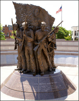 Memorial to colored troops in the civil war, Spirit of Freedom
