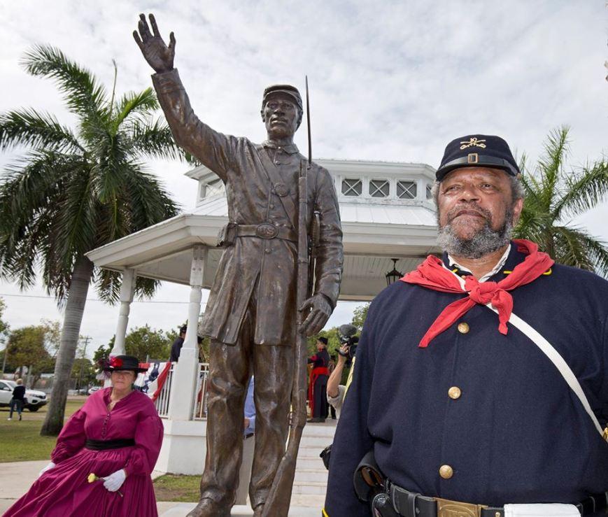 Monument Key West Civil War Black Soldier copy