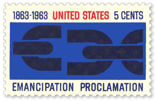 Emancipation-Proclamation-1963-Stamp