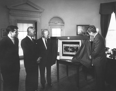 JFK-Unveils-Emancipation-Proclamation-Stamp-Part-1