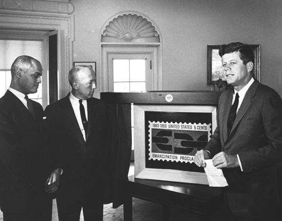 JFK-Unveils-Emancipation-Proclamation-Stamp-Part-2