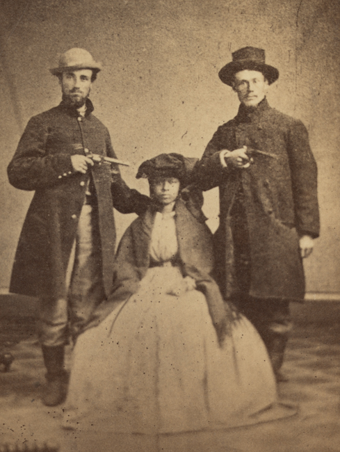 Wisconsin Union Soldiers And Runaway Freedwoman Jubilo