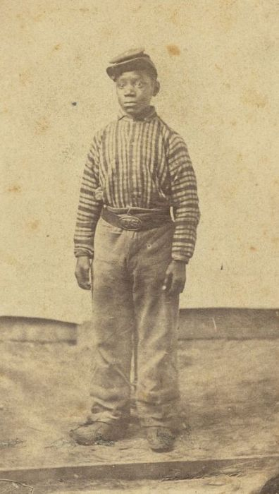 African American Soldier Boy