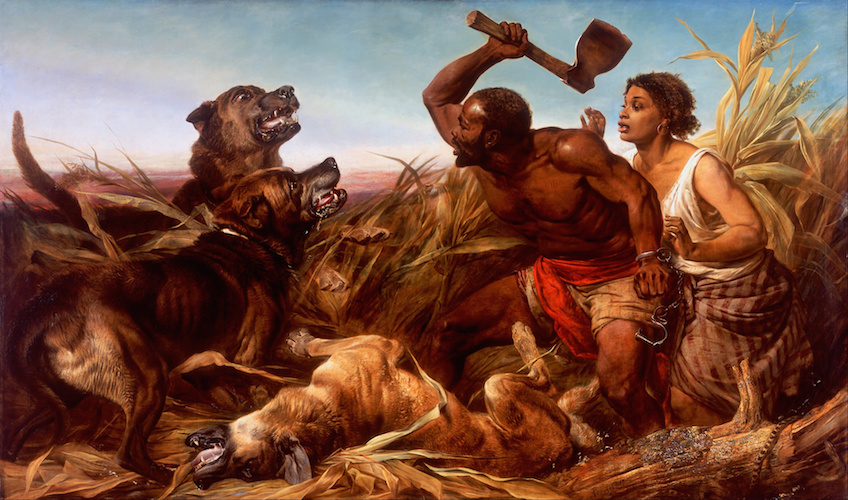 Richard_Ansdell_-_The_Hunted_Slaves_-_Google_Art_Project-2