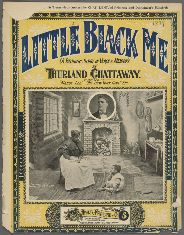 Little Black Me Sheet Music Cover