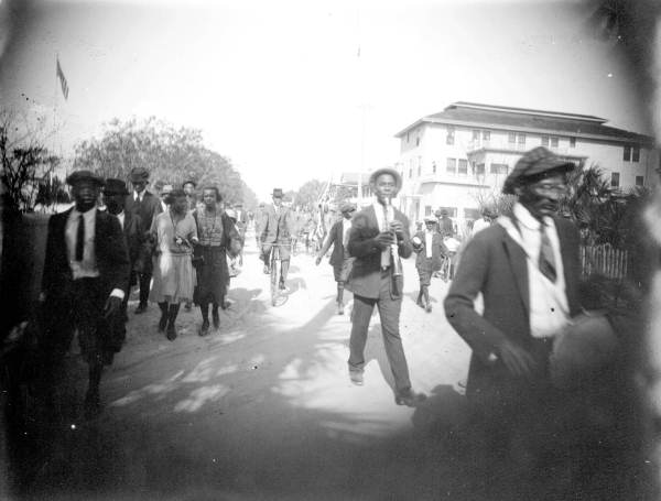 Emancipation Day Parade- Lincolnville, Florida 1920s 1