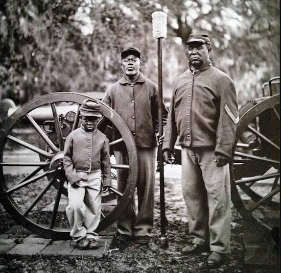 James White USCT North Carolina Reenactor