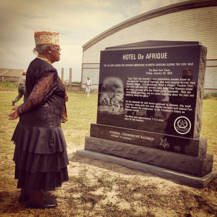 Outer Banks History Hatteras Island's Hotel De Afrique