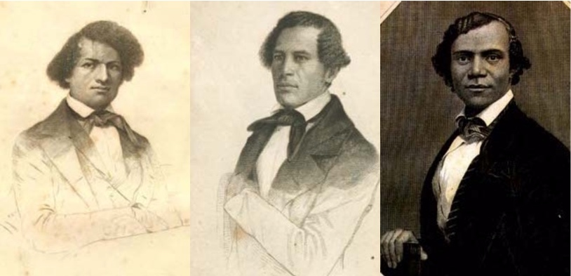 3 Abolitionists Douglass Brown Bibb
