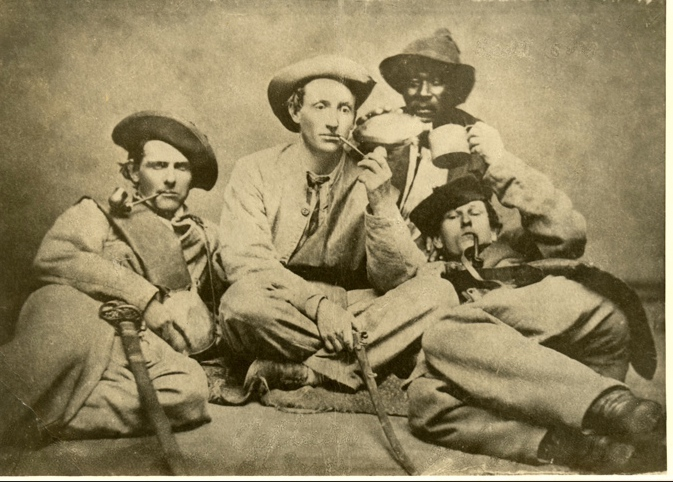 Photograph of the 57 Georgia Regiment