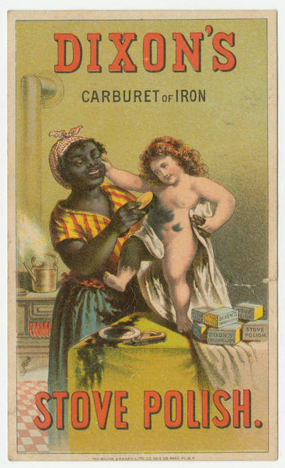Dixons carburet of iron stove polish copy