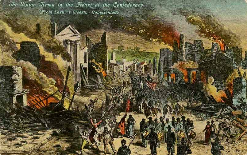 Union Troops enter Richmond VA Leslie's Illustrated