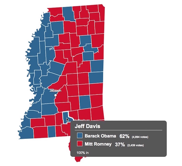 Jeff Davis County Obama election 2012 copy