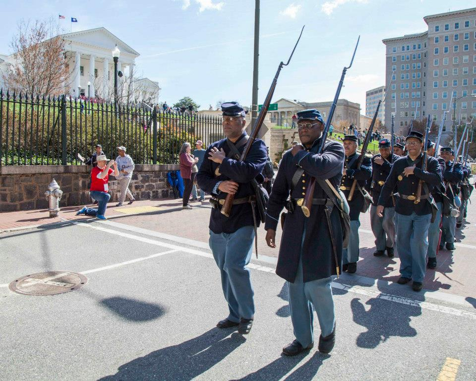 Black SOldiers in Richmond