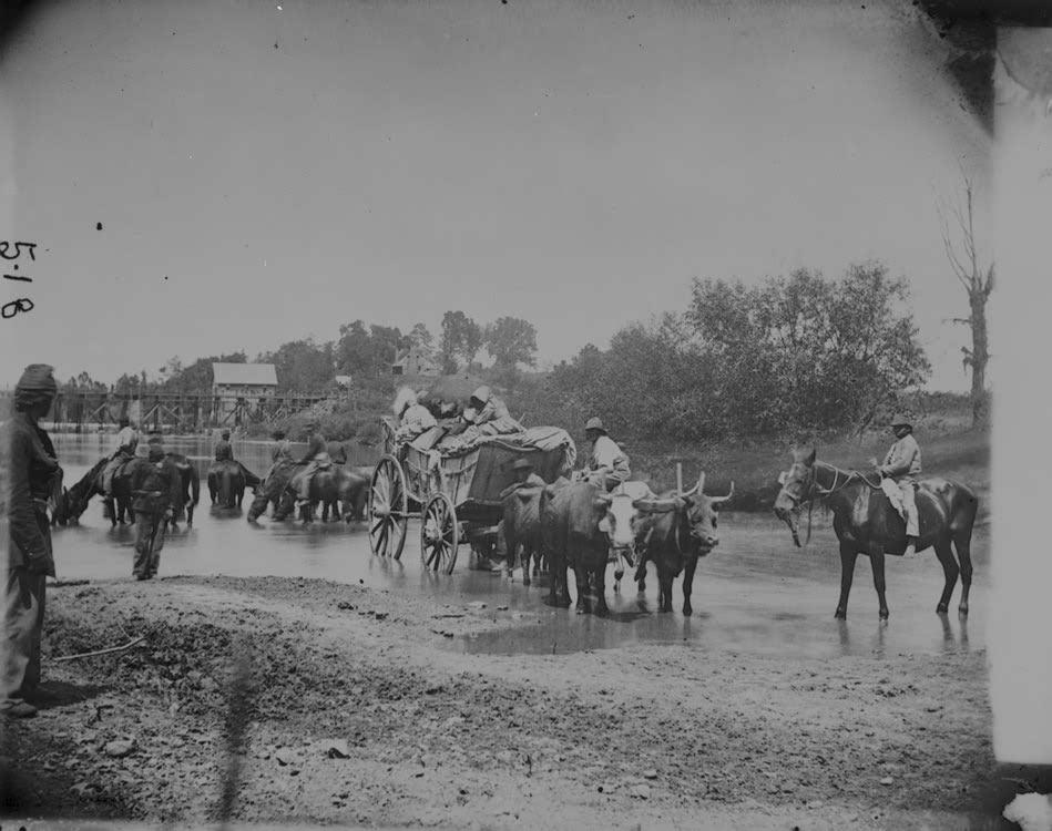 Slaves Fording River